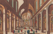 View of Paris - Church Saint Sulpice (France)