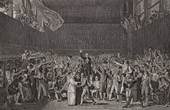 French Revolution - 1789 - Versailles - Tennis Court Oath - Bailly - Mirabeau
