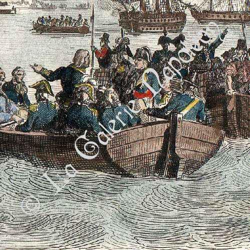 Stampe antiche stampa di rivoluzione francese campagna for Stampe di campagna francese