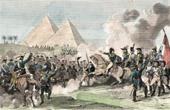 Campagne d'Égypte - Empire Ottoman - Bataille des Pyramides - Armée d'Orient - Mamelouks - 21 Juillet 1798