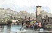 View of Trento - Alps (Italy)