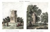 Desaix-monumentet - Strasbourg - Turenne-Monumentet - Sassbach (Frankrike)