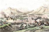 Stich von Österreichische Armee vs Französische Armee - Napoleon Bonaparte - Italien - Schlacht bei Rivoli - Koalitionskriege - 1797