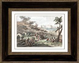 Koalitionskriege - Haiti Revolution - Schlacht von L�ogane - 1794