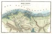 Stich von Karte von Unterägypten