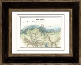 Karte von Unter�gypten