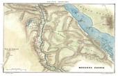Stich von Alte Plan von Mittelägypten