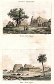Stich von Kench - Edfou (Oberägypten)
