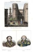 Stich von Kairo - Bab al-Nasr (Ägypten) - Porträts - Augustin-Daniel Belliard (1769-1832) - Jacques de Menou de Boussay (1750-1810)