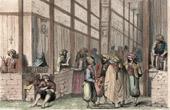 Stich von Kairo (Ägypten) - Basar - Khân al-Khalili