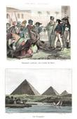 Campagne d'Égypte - Empire Ottoman - Napoléon Bonaparte Pardonnant aux Révoltés du Caire - Armée d'Orient - 24 Octobre 1798 - Mamelouks - Pyramides