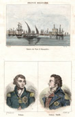 View of Alexandria - The Port (Egypt)  - Portraits - Nelson (1758-1805) - Sidney Smith (1764-1840)