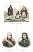 Italian Costume - Italian Fashion - Italy - Naples - Portraits - General Mathieu Dumas (1753-1837) - Championnet (1762-1800)