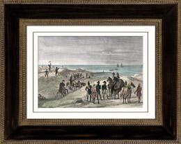 �gyptische Expedition - Pyramide - R�ckker aus Syrien (1799)
