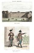K�nigliche Villa von Monza - Lombardei (Italien) - �sterreichische Armee - Ungarisch Milizarmee
