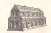 Alti M�bel - Deutsche Kunst - Schrein von Heilige Drei K�nige - 12. Jahrhundert - XII. Jahrhundert - K�ln (Deutschland)