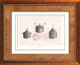 Liturgisches Geräten - Pyxis - Bronze - Byzantinische Kunst