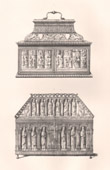 Antique Furniture - French art - Coffer and Shrine (France)