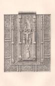 Lithographie von Altsachen - Religiösekunst - Französisch kunst - Schloss - Gotischer - XV. Jahrhundert (Frankreich)