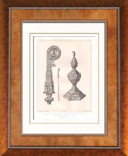 Antike Gegenst�nde - Religi�sekunst - Britischer kunst - Siegel - Schrein - XV. Jahrhundert