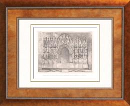 Liturgisches Möbel - Religiösekunst - Spanisch Kunst - Altar - Altarretabel - Catedral de Valencia - Spanien