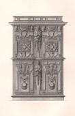 Antique Furniture - French art - Cabinet - Ornaments - Jacques Androuet du Cerceau