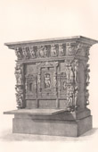 Antique Furniture - French art - Cabinet