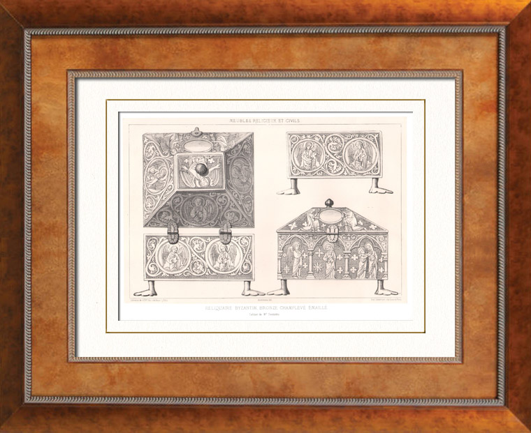 gravures anciennes gravures de meuble ancien. Black Bedroom Furniture Sets. Home Design Ideas