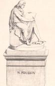 Statue of Nicolas Poussin (1594-1665)