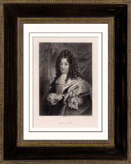 Portr�t von Ludwig XIV (1638-1715)