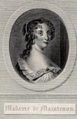 Portrait of Fran�oise d'Aubign� - Marquise de Maintenon (1635-1719)