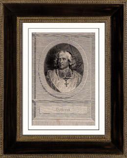 Porträt von Bossuet (1627-1704)