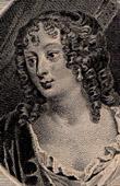 Portrait of Fran�oise-Marguerite de S�vign� - Comtesse de Grignan (1646-1705)