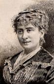 Portr�t von Blanche Barretta (1855-1939)