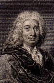 Portrait of Alain Ren� Lesage (1668-1747)