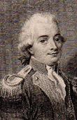 Retrato de Jean-Pierre Claris de Florian (1755-1794) - Fabulista Francés
