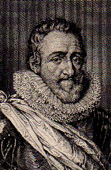 Portrait of Henry IV (1553-1610) - King of France and Navarre
