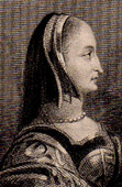 Portrait of Margaret of Valois - Reine Margot (1553-1615)