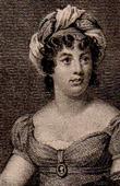 Porträt von Madame de Staël (1766-1817) - Schriftsteller - Essayist - Literarischer Salon