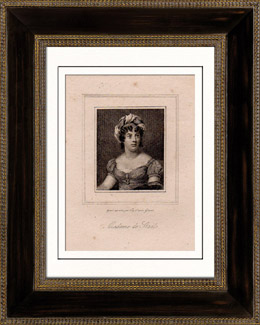 Portr�t von Madame de Sta�l (1766-1817) - Schriftsteller - Essayist - Literarischer Salon