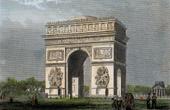 View of Paris - Arc de Triomphe de l'Etoile - Champs Elys�es (France)