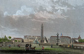 View of Paris - Place de la Concorde - Obelisk of Luxor  (France)