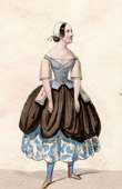 Theater Clothing - French Stage Costume - Mme Dupuis - Caquet - Cocorico