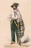 Franz�sische Theaterkleidung