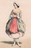 Französische Theaterkleidung