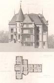 Castle of Mas-Lauren - Felletin - Creuse - Limousin (France)