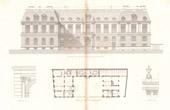 Hotel Rue de Chaillot in Paris - Architect Charles Rohault de Fleury (France)