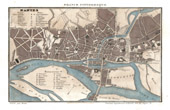 Map of France - 1881 - Loire Inf�rieure - Nantes