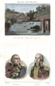 Waterfall - Forges de Syrod (Jura - France) - Portraits - Pichegru (1761-1804) - Malet (1754-1812)