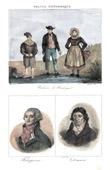 Fishermen in Boulogne-sur-Mer (France) - Portraits - Robespierre (1759-1794) - Daunou (1761-1840)